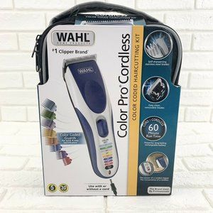 WAHL CLIPPERS Trimmer Hair Cutting Kit Color Pro